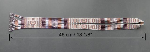 украшения из бисера бисерное колье с бахромой