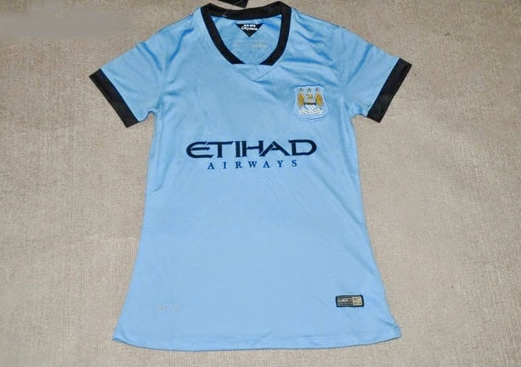 Jersey Manchester City Home Grade Ori  2014-2015 Ladies