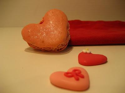 macaron rosa ai lamponi