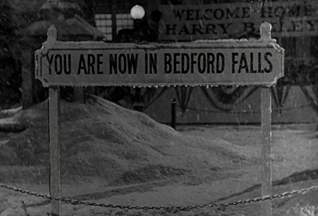 You are now in Bedford Falls