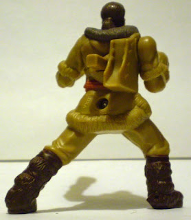 Back of McDonald's Sokka action figure from The Last Airbender