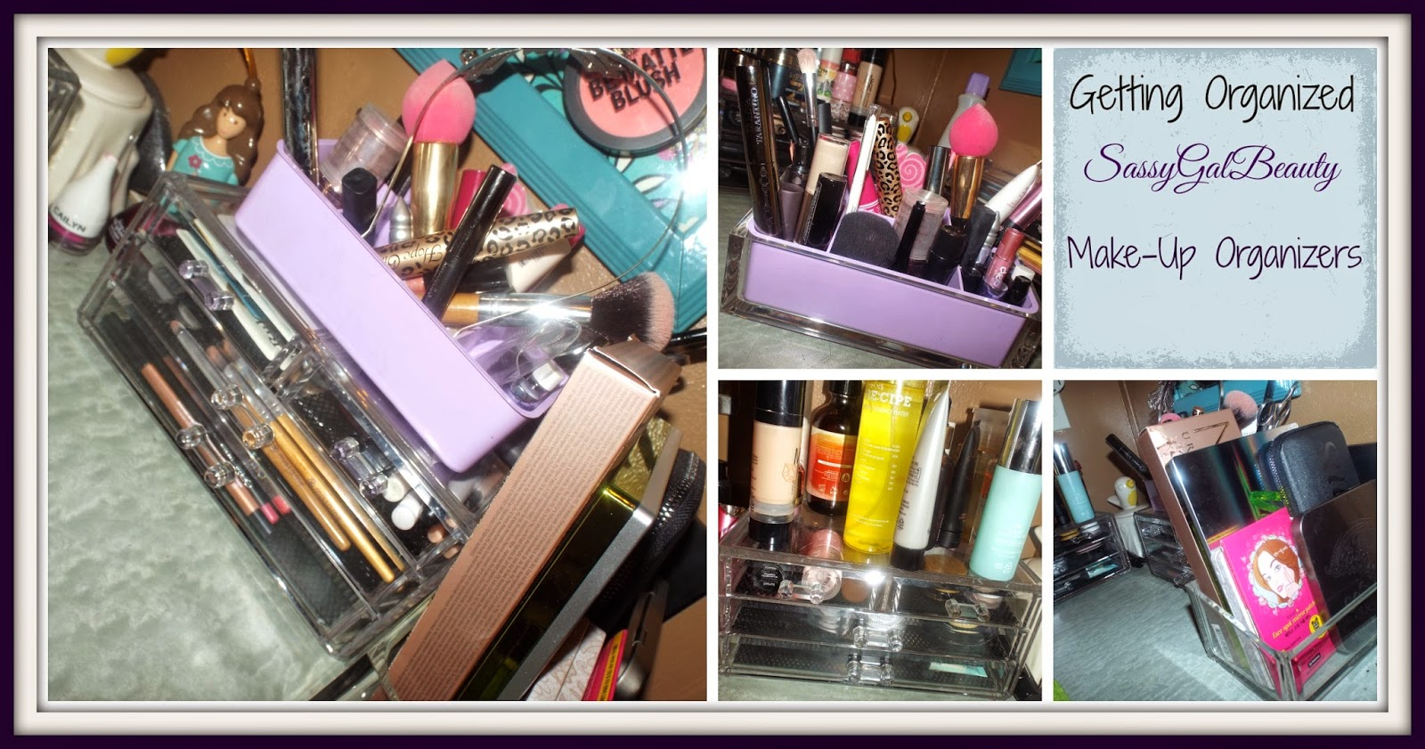 Getting Organized: Makeup Beauty Organizers