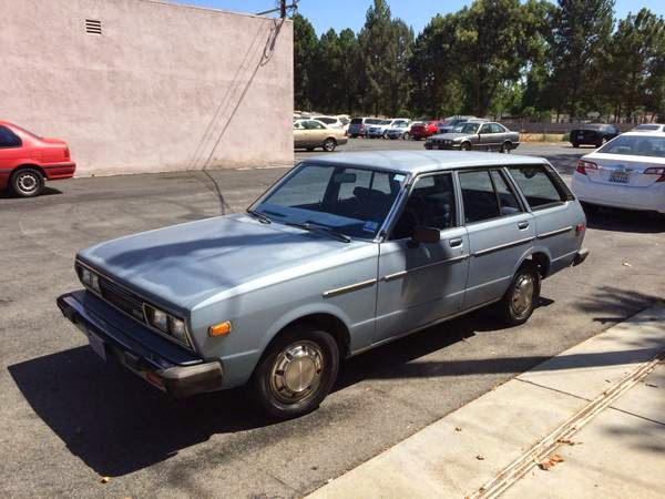 1981 Datsun 510 Station Wagon Auto Restorationice
