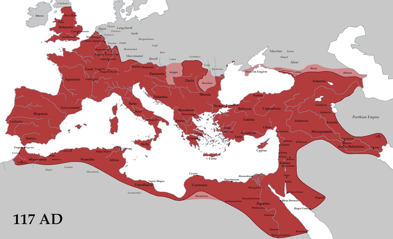 Western Roman Empire (Seven Roman States)