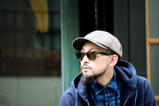 "Nigel Cabourn ""Hevy Tweed Casquette"" size M 12,960yen"