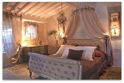 Un dormitorio rom ntico dormitorios con estilo - Dormitorio estilo romantico ...