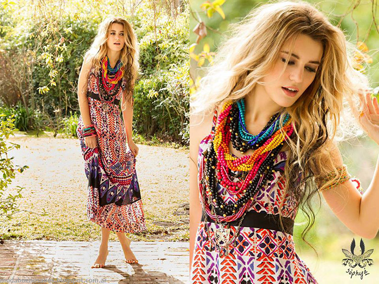 Vestidos primavera verano 2015 Sophya.