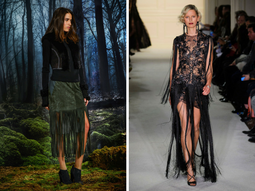 NYFW Top Trends, Style, Fashion, Fringe