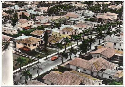 El Rosal, en Caracas, ofreciéndonos una vista hermosa de sus quintas y palmeras