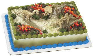 Dinosaurs Birthday Cake For Boys