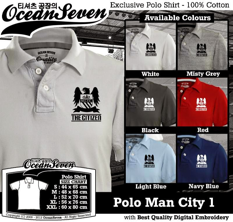 Kaos Polo Man City 1