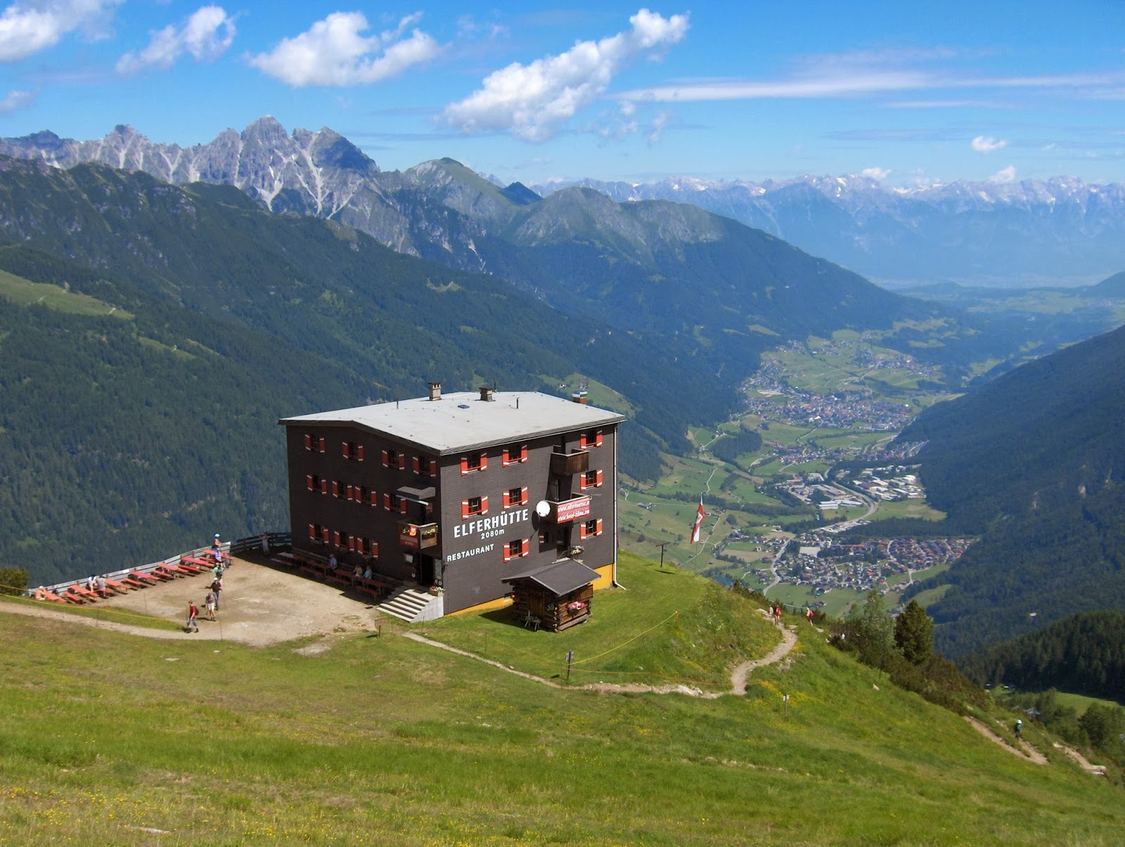 Walking in the Austrian Alps