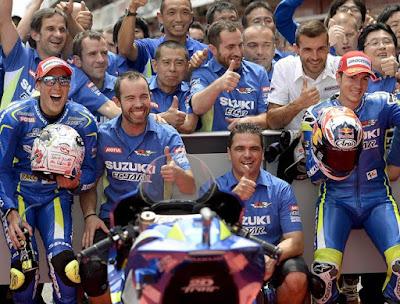 Dorna Minta Tim Satelit, Suzuki MotoGP Angkan Tangan