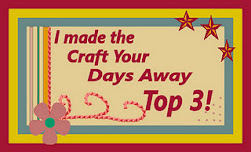 Top 3 winner at craft your days away 12/05/12