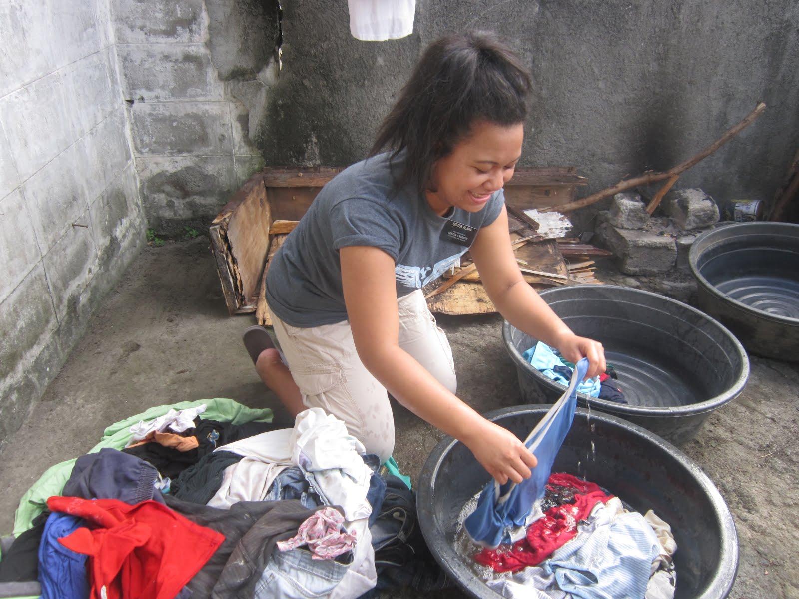 """Laundry """"Island Style"""""""