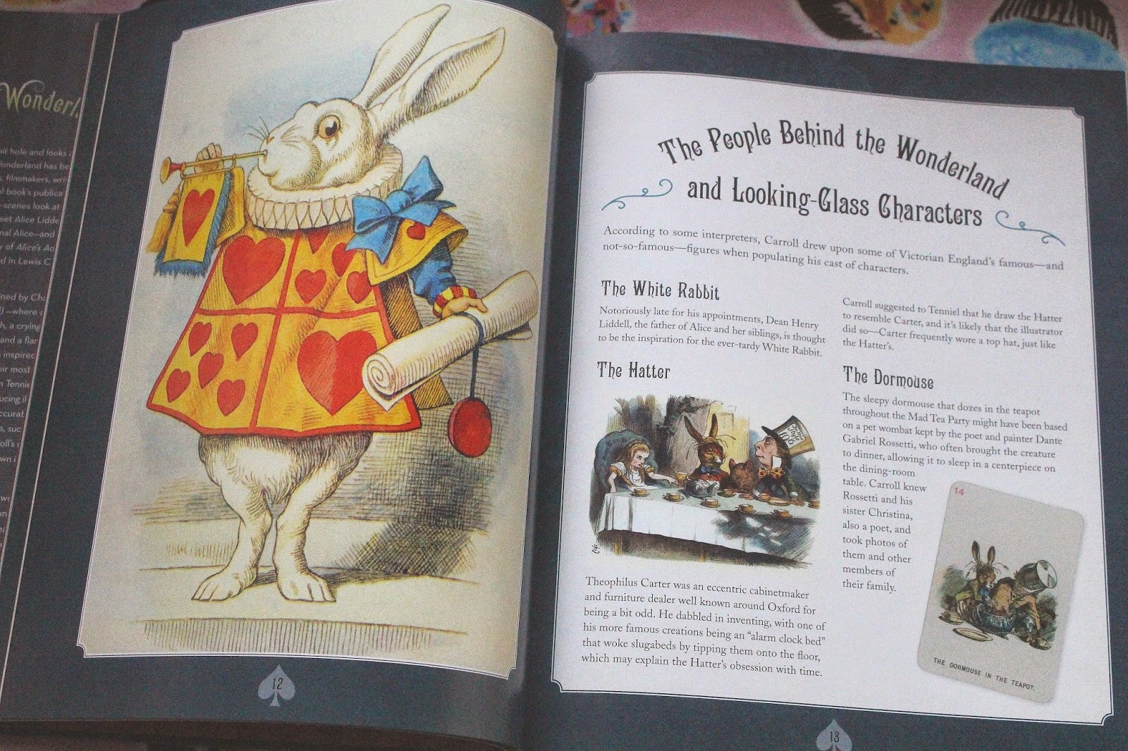 a review of lewis carrolls story alice in wonderland Alice's adventures in wonderland, by lewis carroll:  7 a mad tea-party alice's adventures in wonderland,  i vote the young lady tells us a story.
