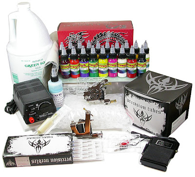 Tattoo Kits The Cost of Tattoo Supplies