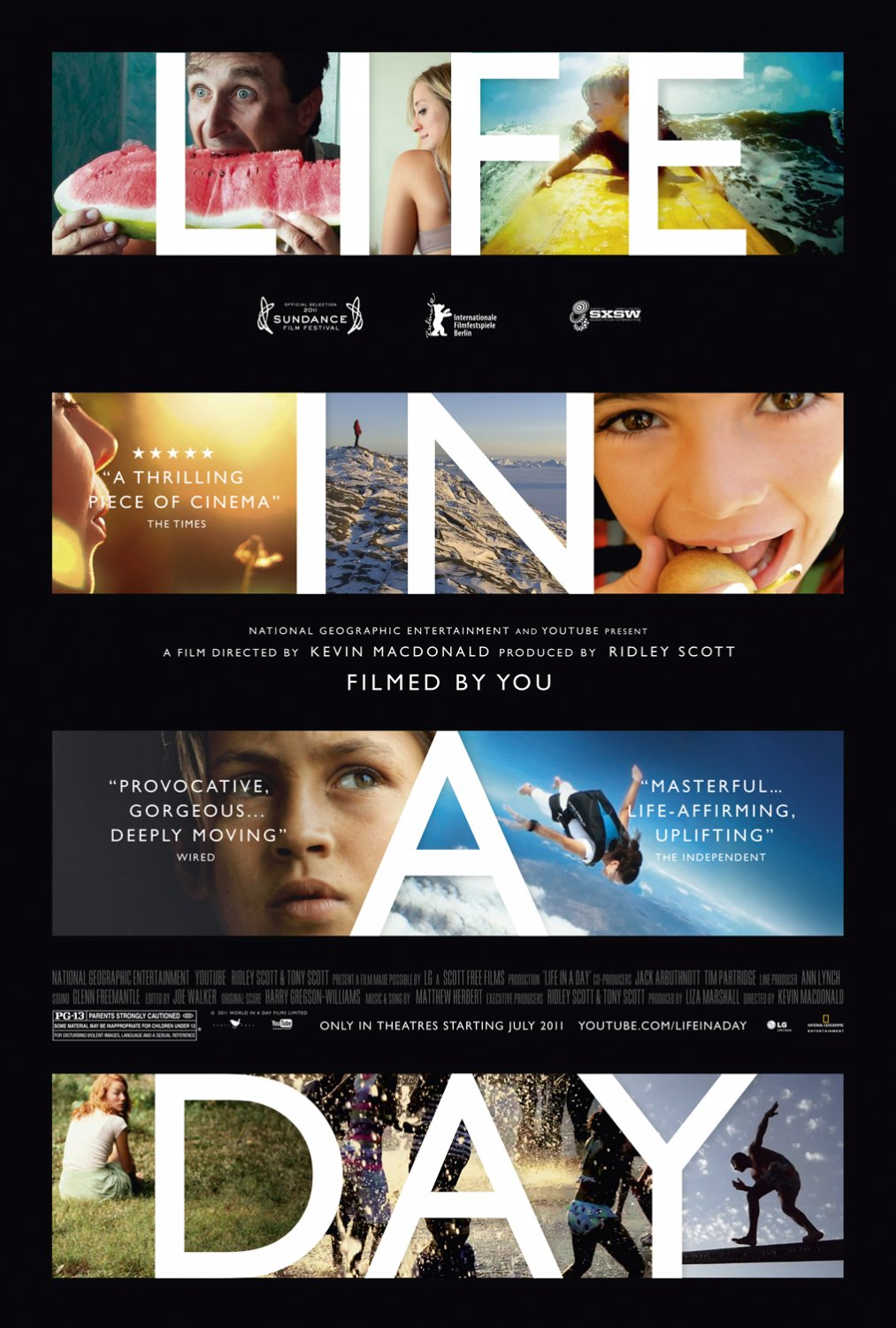 moviesandsongs365: Documentary review: Life in a Day (2011)