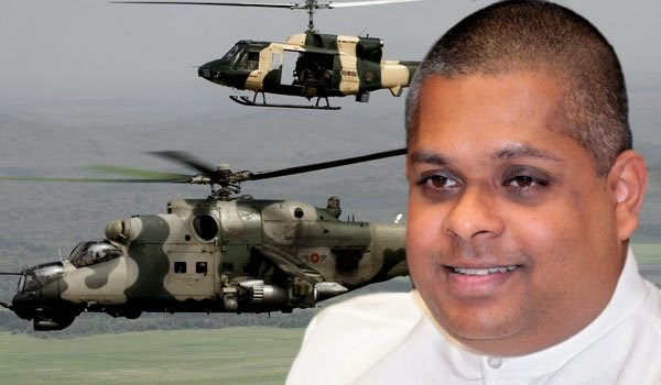 How did Sajin have influence in helicopter bargain?