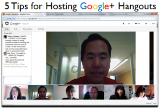 http://allvirtual.me/2012/01/30/5-tips-for-hosting-google-hangouts/