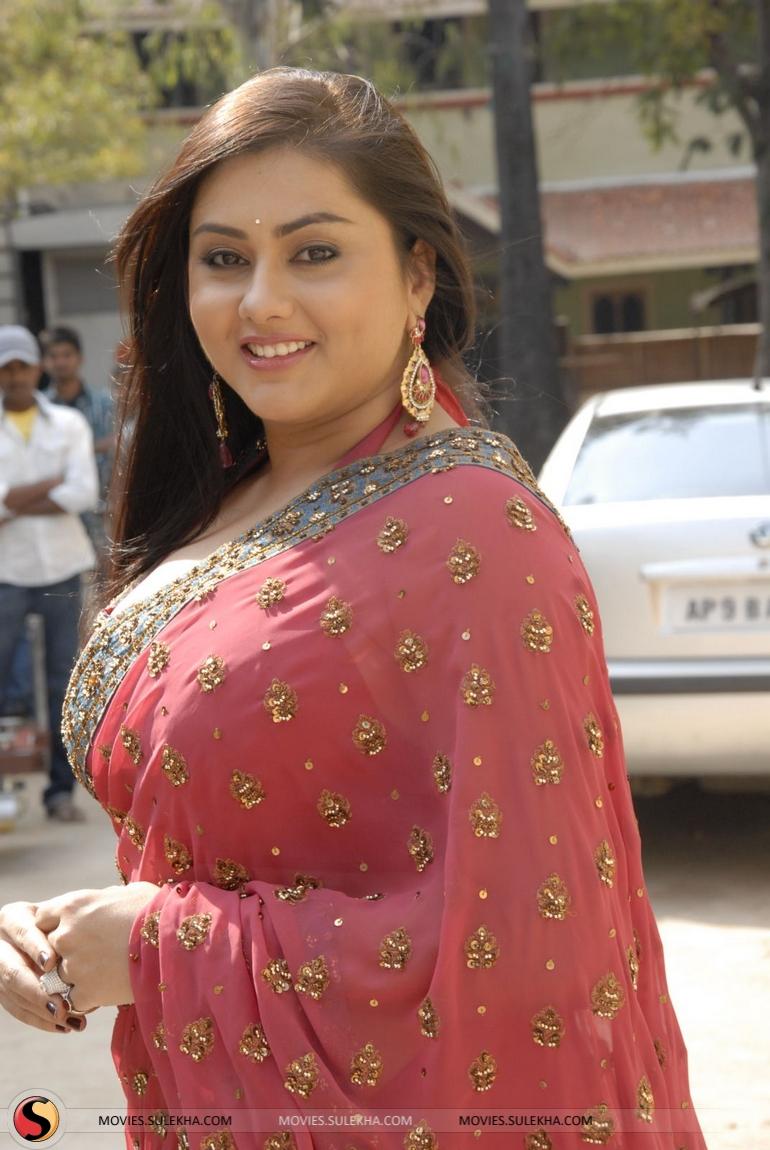 Namitha Hot Saree