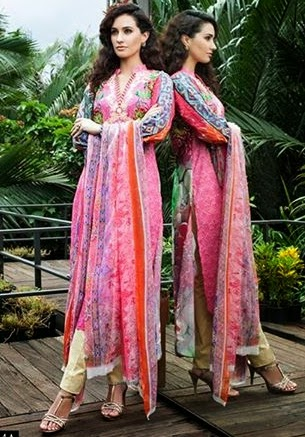 Mavi Designer Embroidered Collection 2014