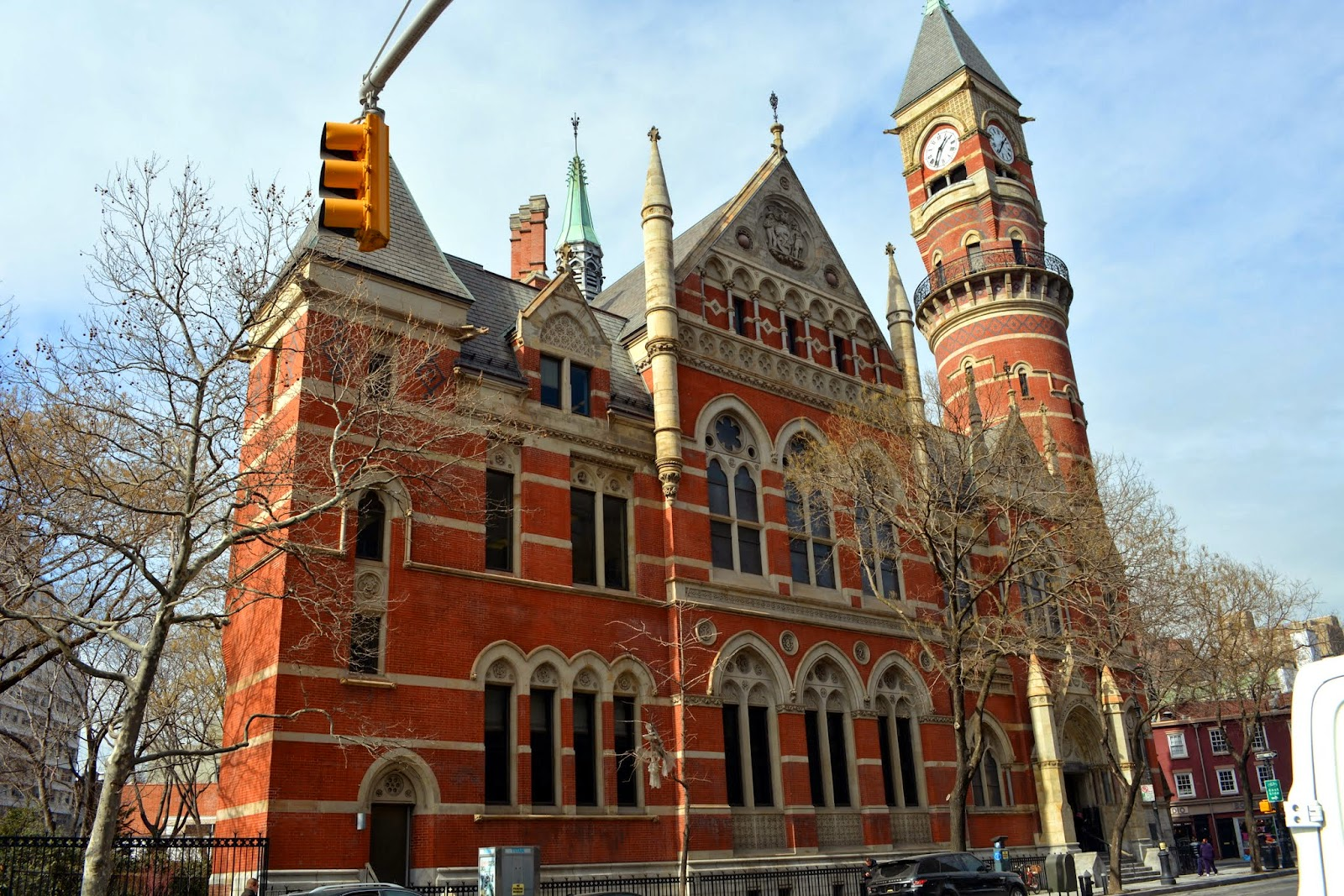Mille fiori favoriti the jefferson market library for The village nyc