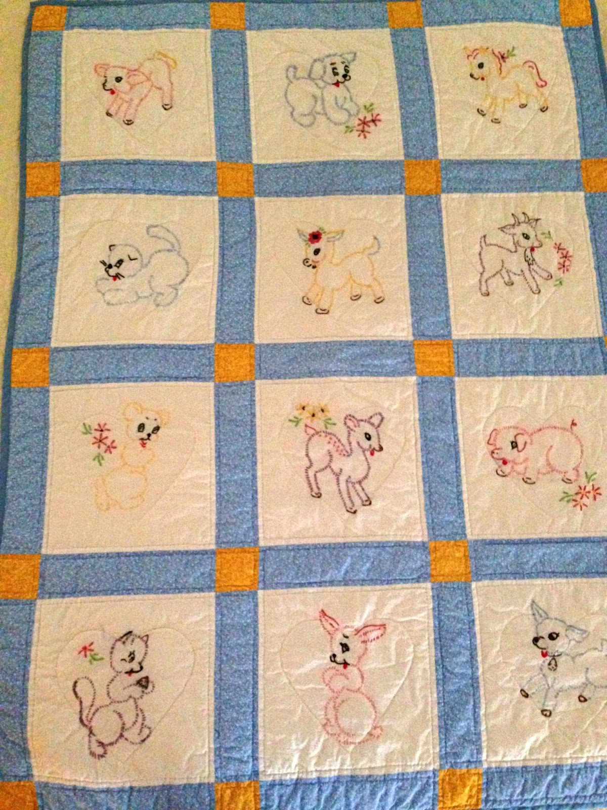 How To Make A Group Baby Quilt Knitionary