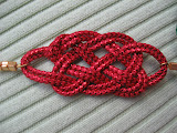 Red Sparkle Knot