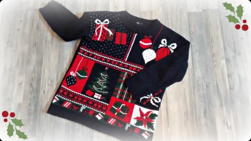 Pullover mit Weihnachtsmotiv von asos.com