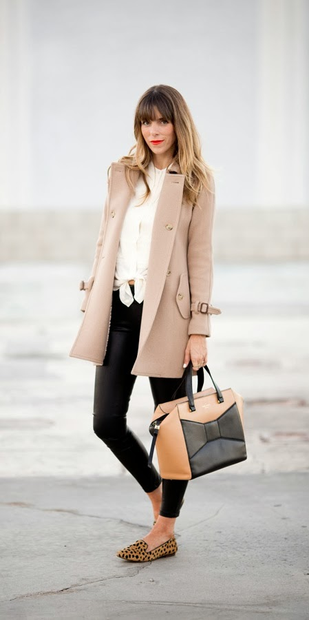 Lovely pea coat fashion for winter