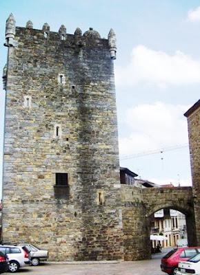 Salas, torre medieval