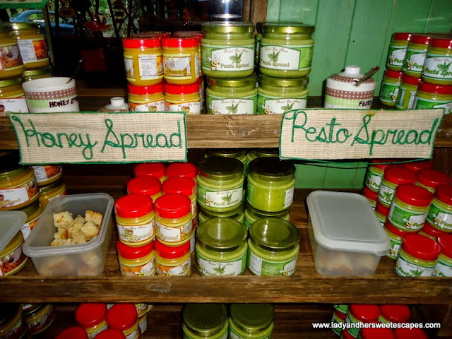 organic sandwich spread in Bee Farm Panglao