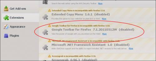 google toolbar for firefox 12.0 download