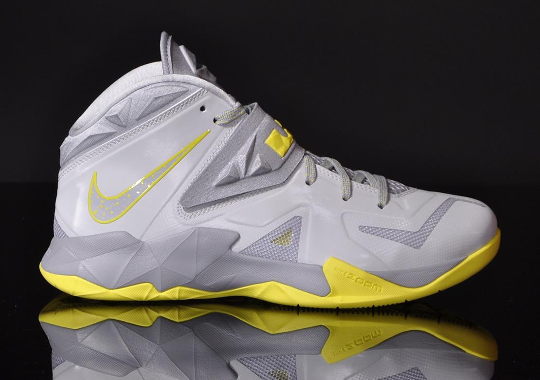Lebron Soldier 7 Yellow KIXIONARY WORLD: Nike ...