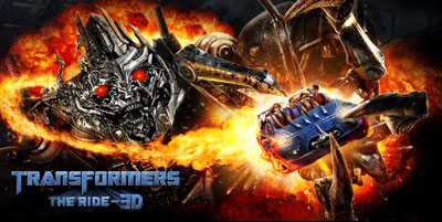 Transformers - The Ride 3D