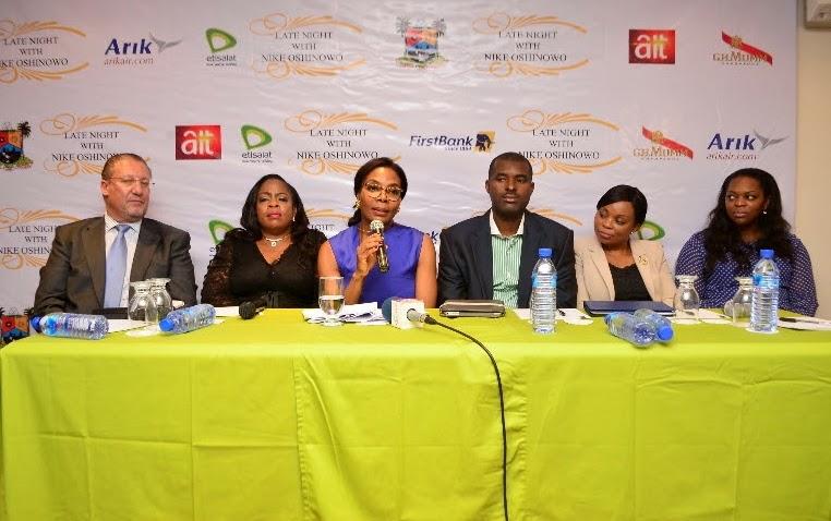 nike oshinowo tv show