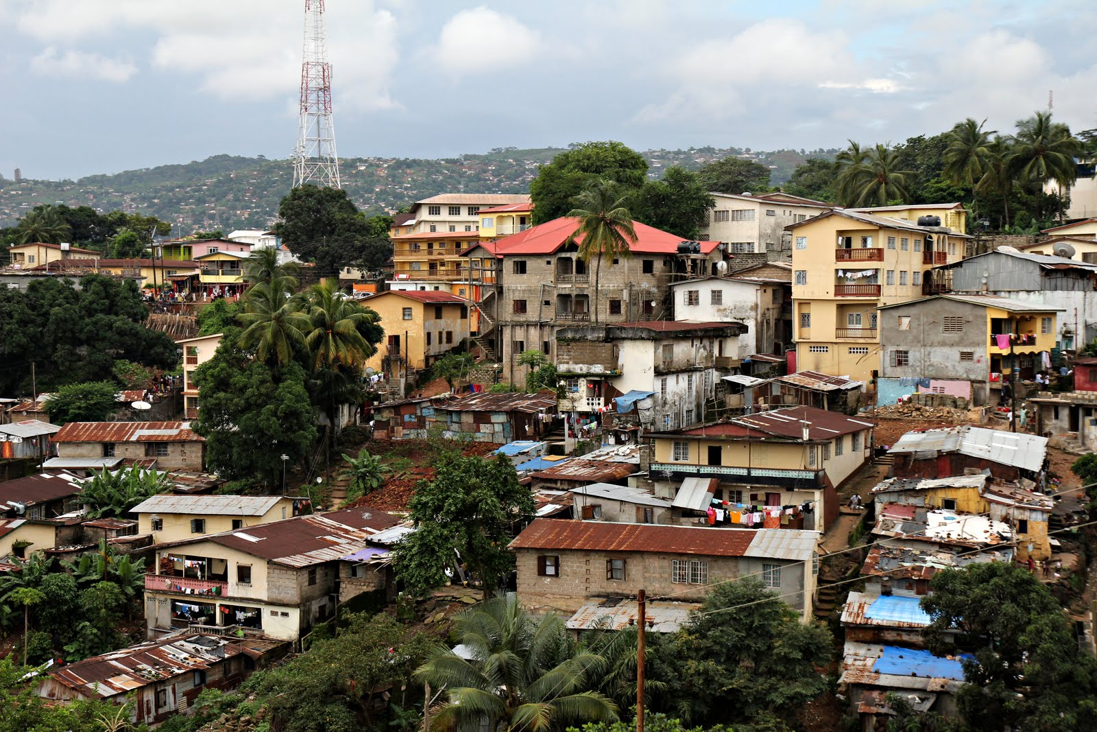 Freetown Sierra Leone  city images : Bob and Betty in Sierra Leone: A typical day in Freetown Betty Press