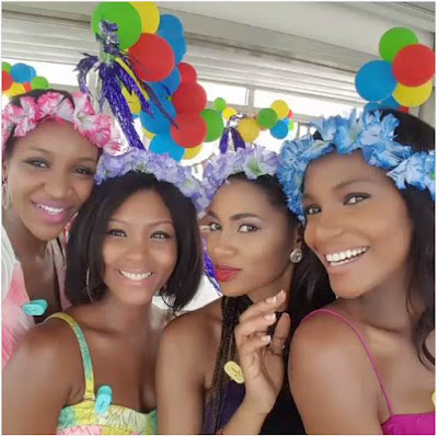 Baby shower: Agbani Darego, Tiwa Savage, others, celebrate Elohor Aisien