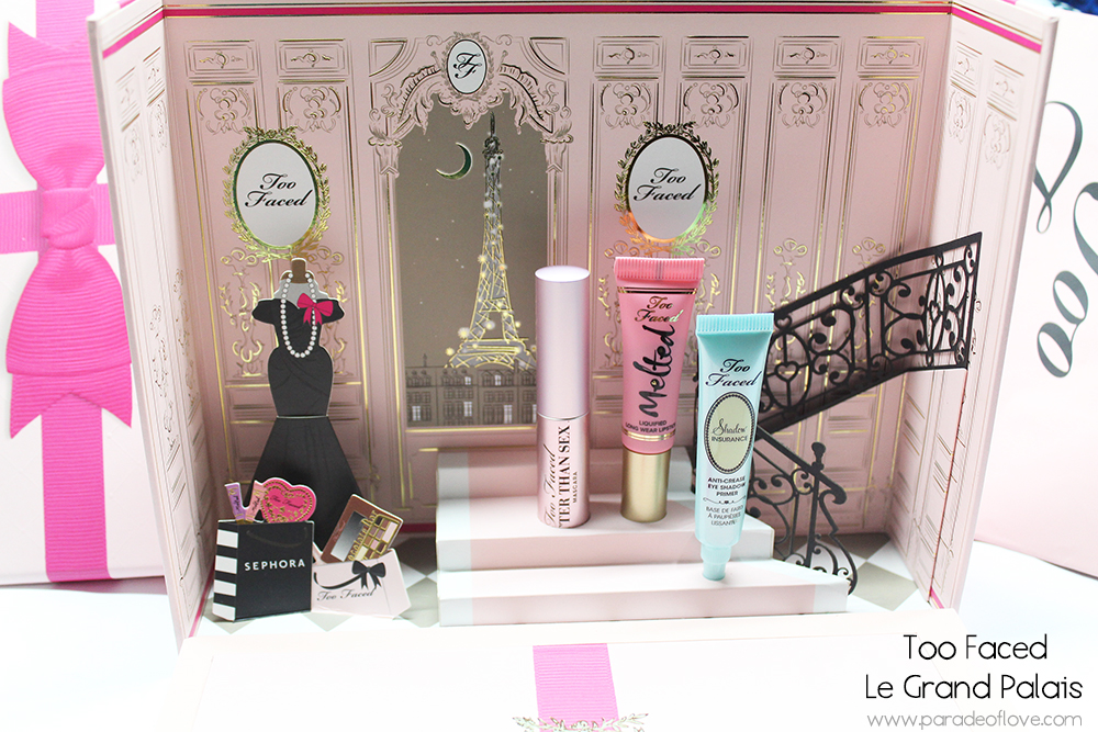 Too Faced x Sephora Le Grand Palais