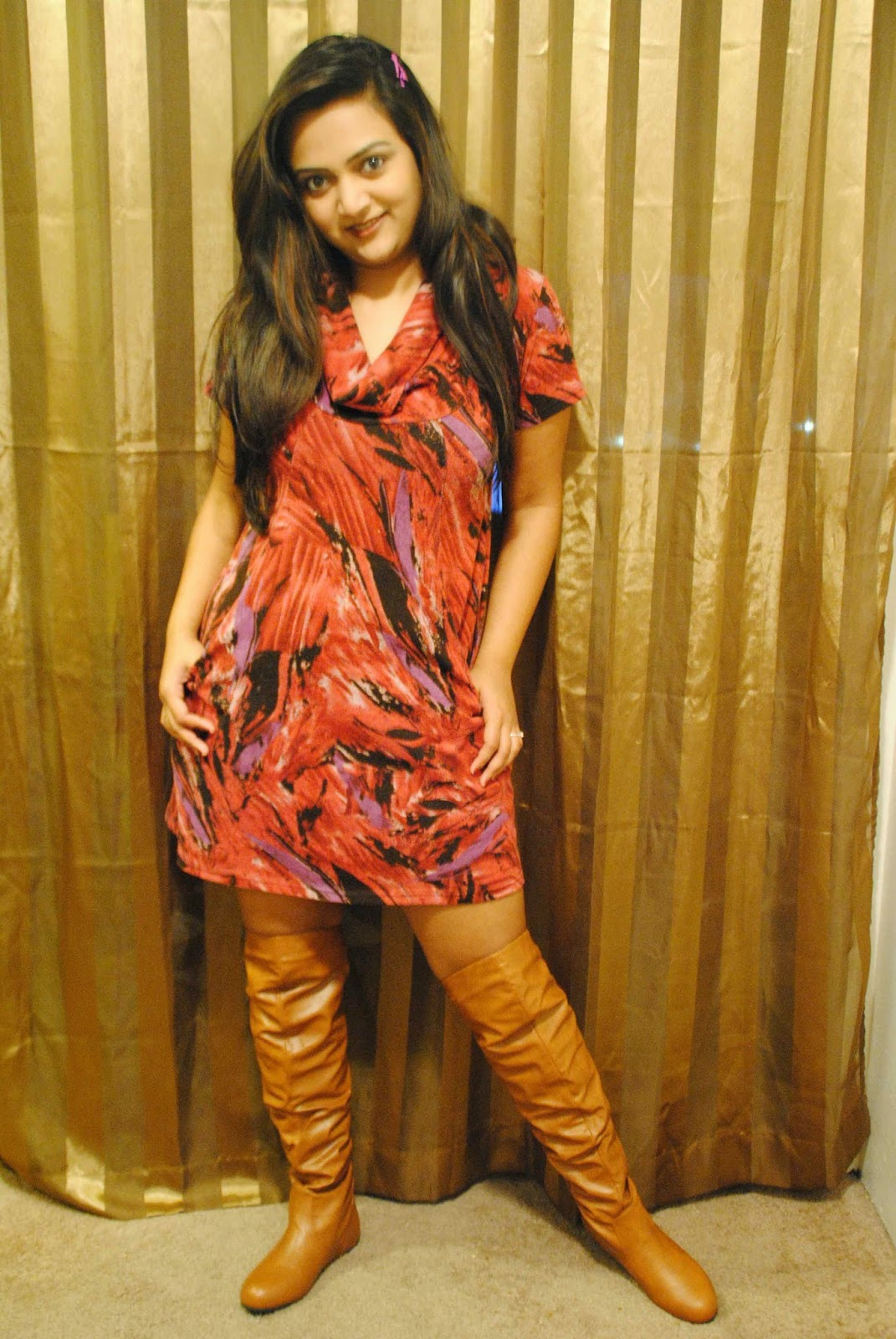 suede dresses, dress with pockets, over the knee boots, knee high boots, indian fashion blogger, spring style dresses, Ananya Kiran