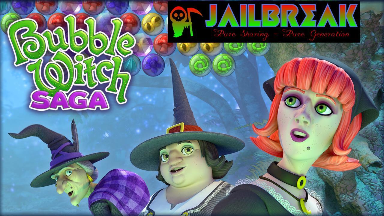 Bubble Witch Saga Coins Reward 16 September 2013 - Jailbreak Pure