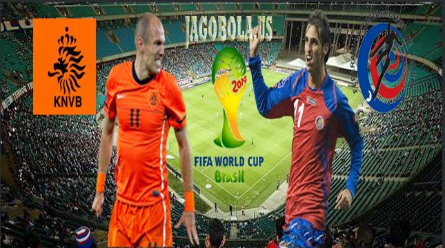 Prediksi Skor Belanda vs KostaRika 06-07-2014 Piala Dunia