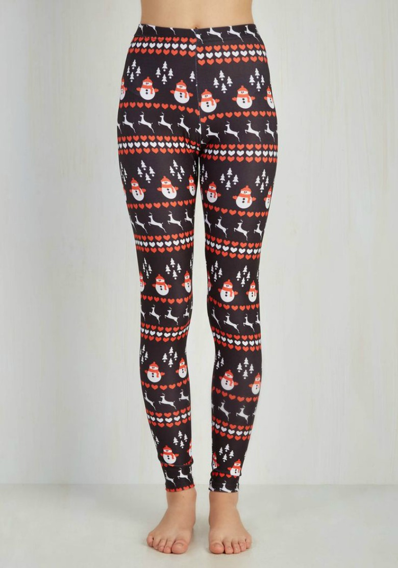 ModCloth Christmas leggings