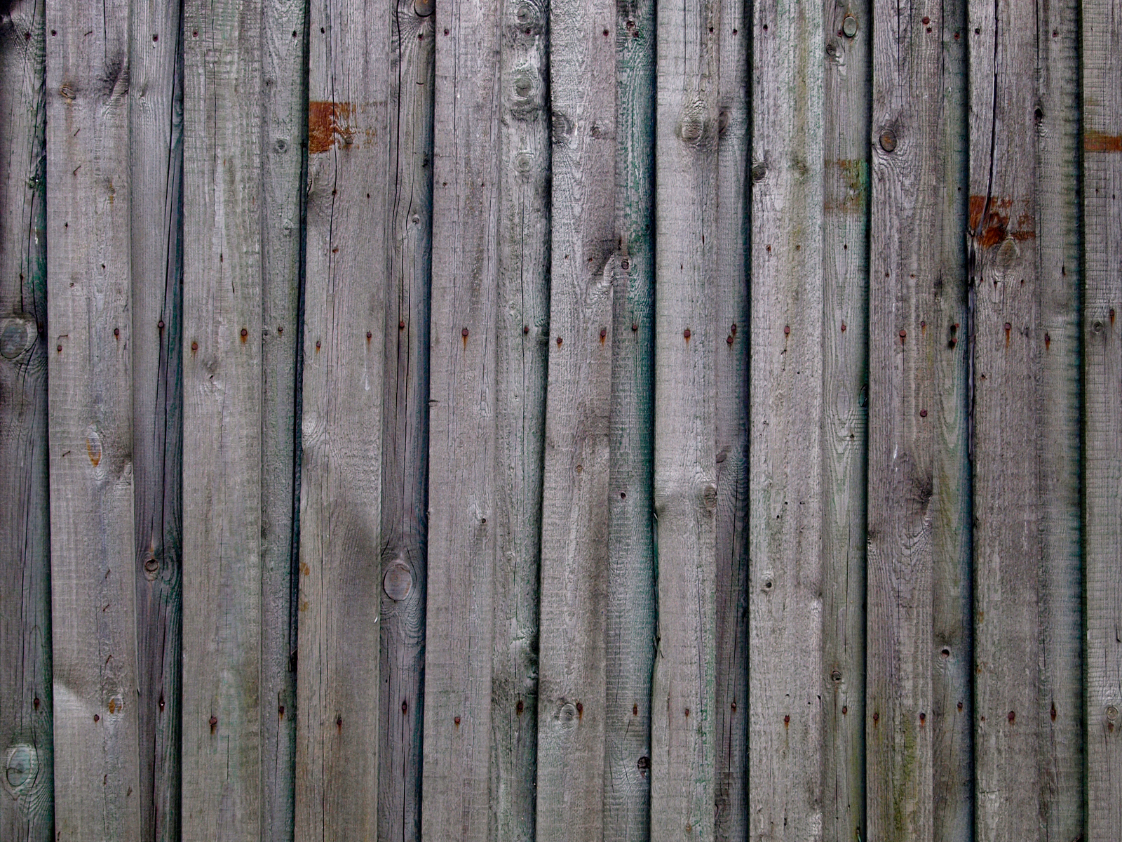 Wooden horizontal plank fences old ones reusage