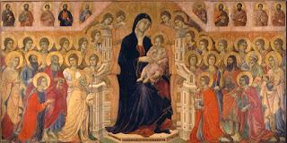 Pala grande tavola dipinta o scolpita posta sopra all' altare