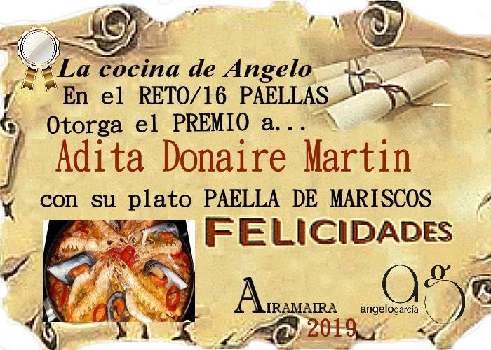 Ganador@r del *RETO/16 PAELLA*