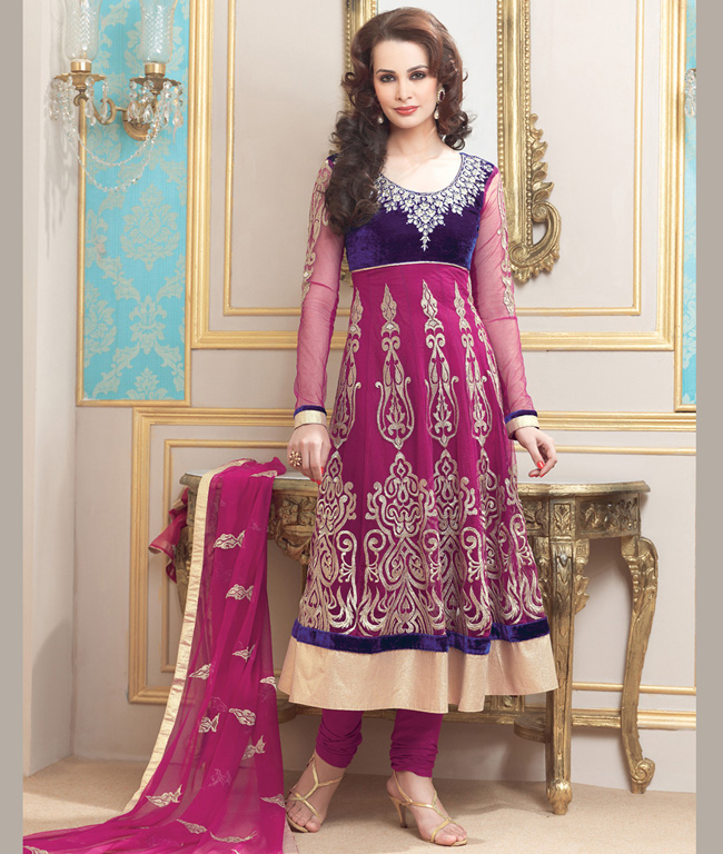 Pakistani Chiffon Salwar Kameez Collection in India