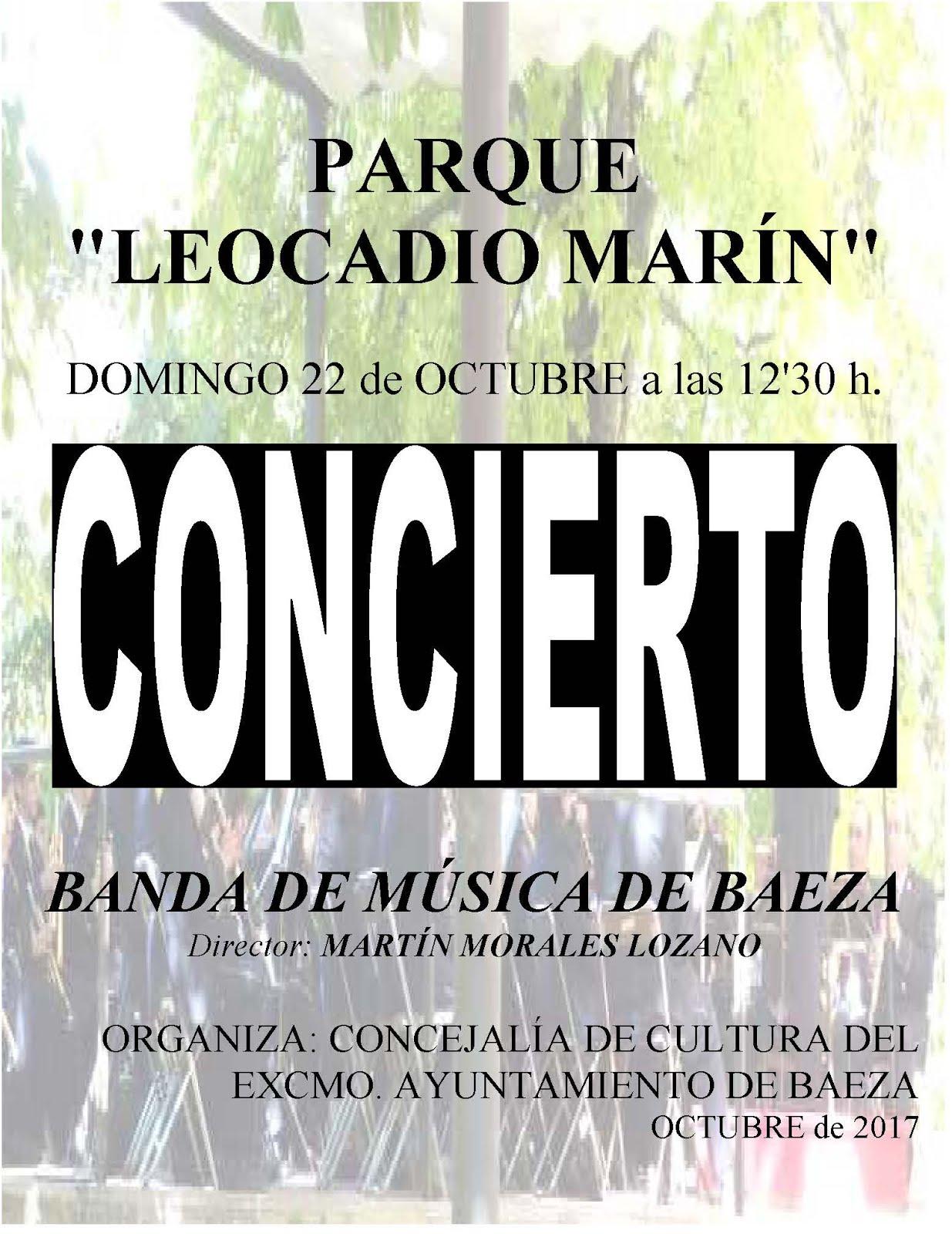 BANDA DE MÚSICA DE BAEZA - CONCIERTO