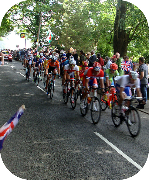 Olympic road race men London Box Hill